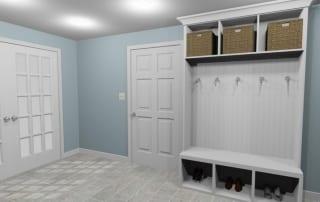 RI Basement 3d remodeling