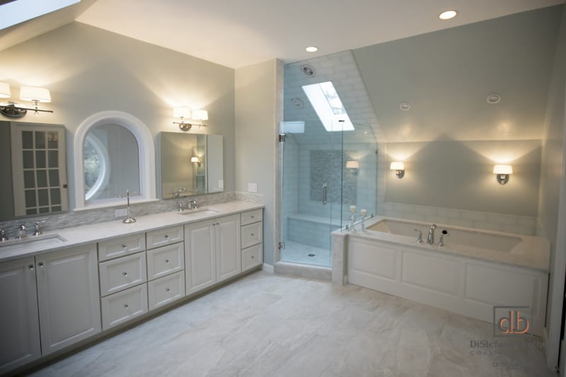 A Contemporary Bathroom Southern RI Bathroom Remodel - Brothers bathroom remodeling