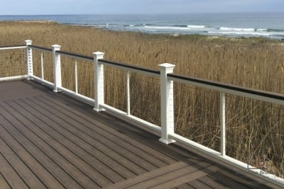 oceanside deck