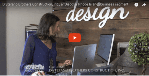 "DiStefano Brothers Construction, Inc., a ""Discover Rhode Island"" business segment"