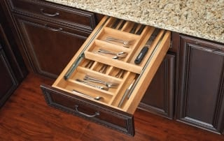 Two Tiered cutlery drawer