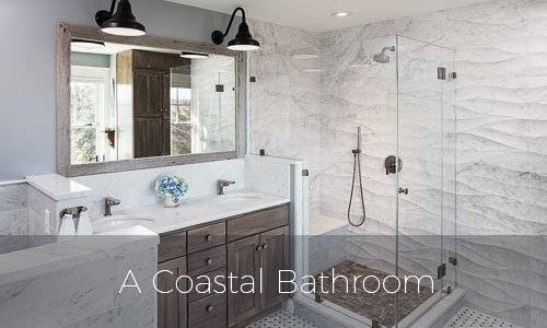 A Coastal Bathroom