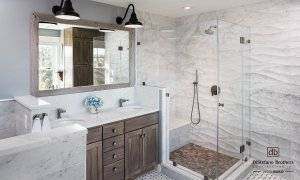 Coastal Bathroom Remodel