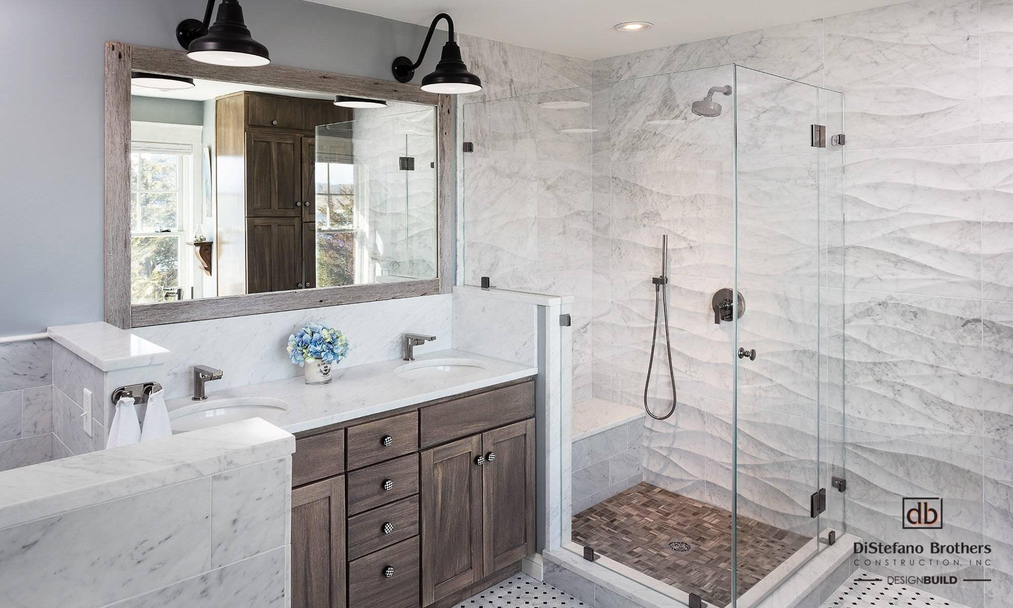 Coastal Bathroom Remodel Rhode Island Design Build