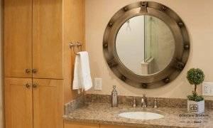 Ship Porthole Bathroom Bathroom