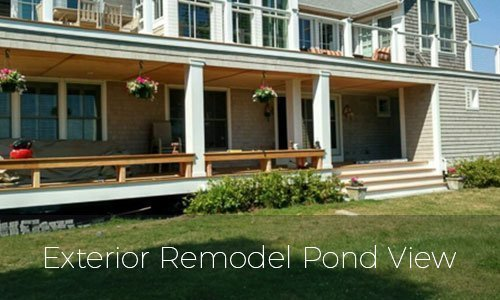 Exterior Remodel Pond View