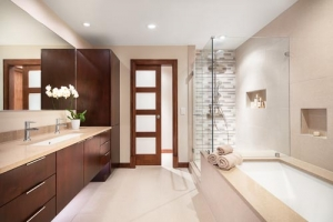 Rhode Island Bathroom Remodel, Modern