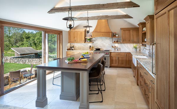 The pond house Kitchen remodel in Rhode island
