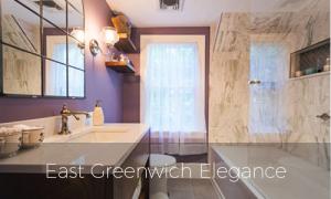 East Greenwich Elegance Bathroom remodel