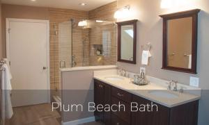 Plum Beach Bathroom remodel