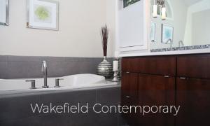 Wakefield Contemporary bathroom remodel