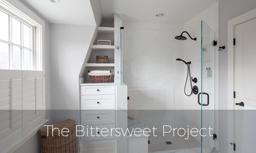 The Bittersweet Project bathroom remodel