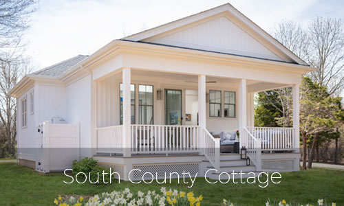 Rhode Island Home Builder - South County Cottage