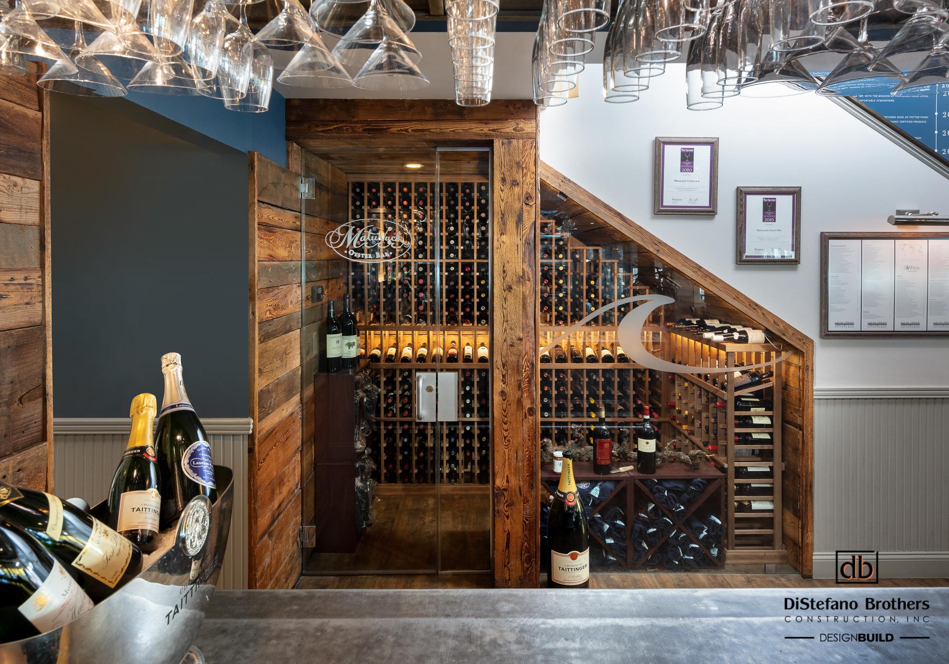 The Matunuck Oyster Bar's, Rhode Island, Remodeled Bar Area