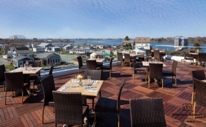 The Matunuck Oyster Bar's, Rhode Island, Remodeled Outside Deck Area