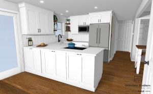 rhode island kitchen remodel costs, level 1
