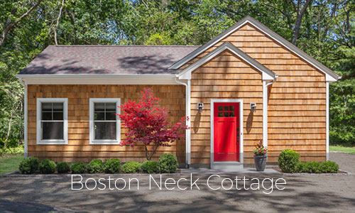 Rhode Island Home Builder - Boston Neck Cottage