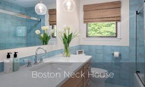 Boston Neck House bathroom remodel