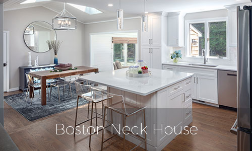 Boston Neck House Kitchen Remodel