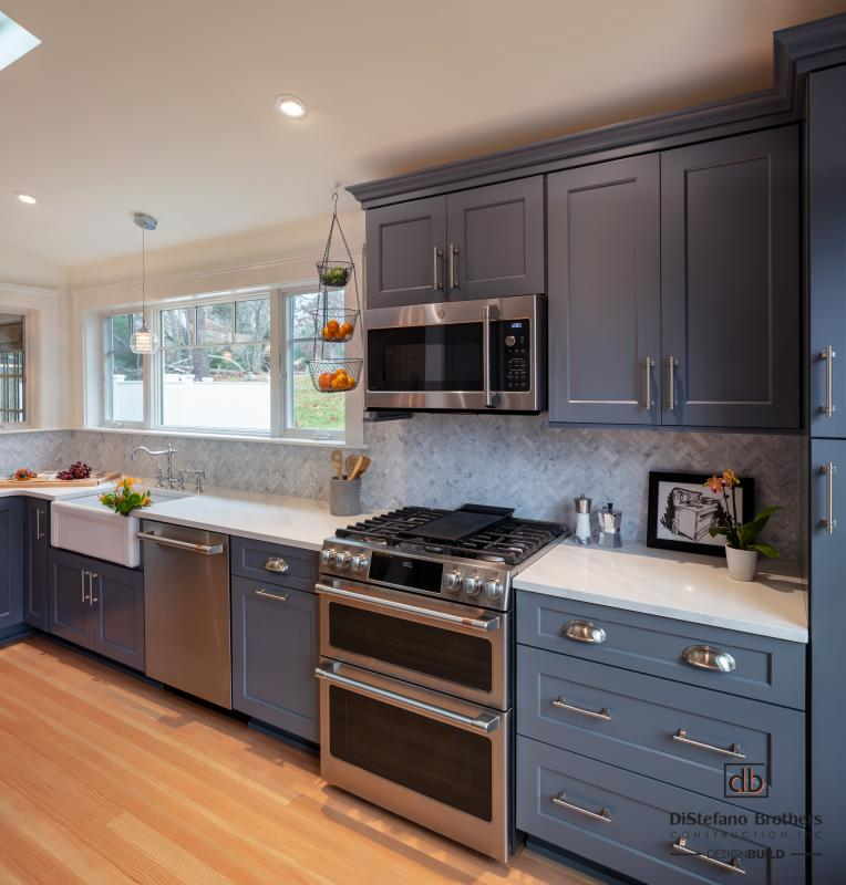 whole house remodel in rhode island  - kitchen