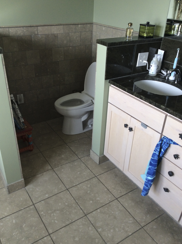 A Coastal Bathroom BEFORE