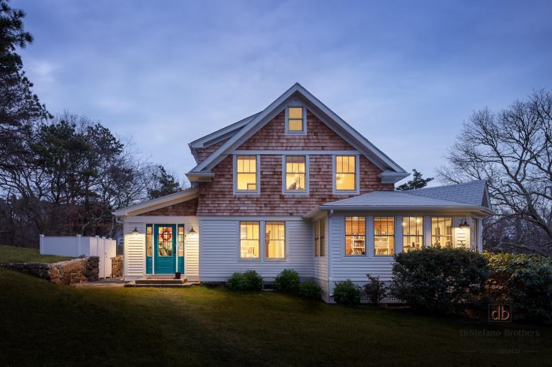 Whole House Remodel, South Kingstown, Rhode Island, night photo